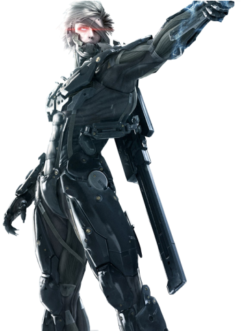 Metal Gear Rising Revengeance Raiden